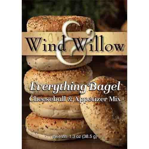 New  Everything Bagel Cheeseball & Appetizer Mix
