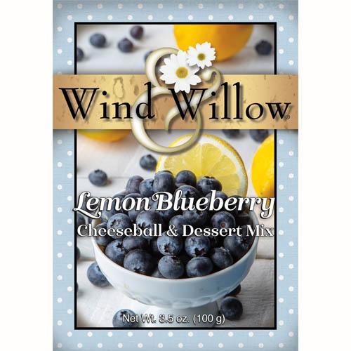 New for Spring  Lemon Blueberry Cheeseball & Dessert Mix