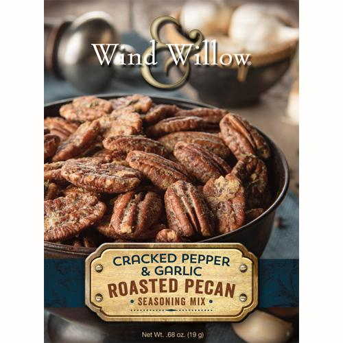 Cracked Pepper & Garlic Roasted Pecan Seasoning Mix
