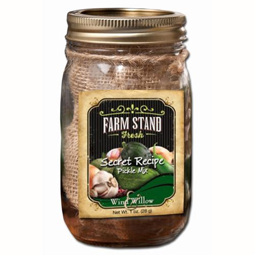 Farm Stand / Pearl and Johnny Secret Recipe Pickle Mix & Jar
