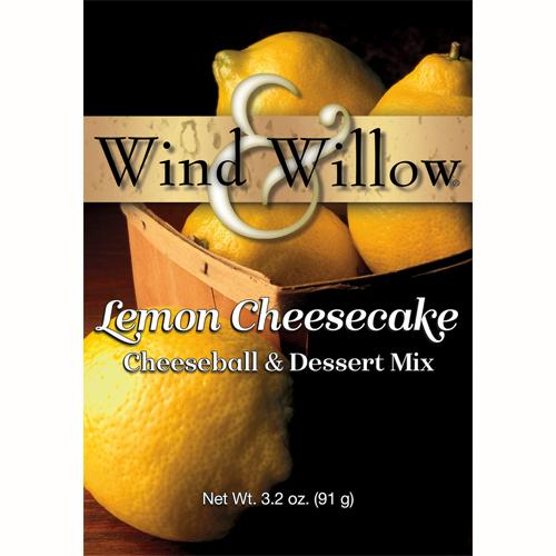 Lemon Cheesecake Cheeseball & Dessert Mix