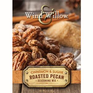 Roasted Pecan Seasoning Mix - Cinnamon & Sugar