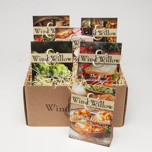 Wind&Willow Savory Gift Box- 6 Pack products in branded gift box.