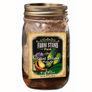 Farm Stand Sweet Dreams Pickle Mix & Jar