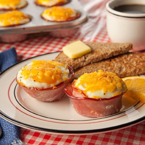 Smokehouse Ham & Egg Cups
