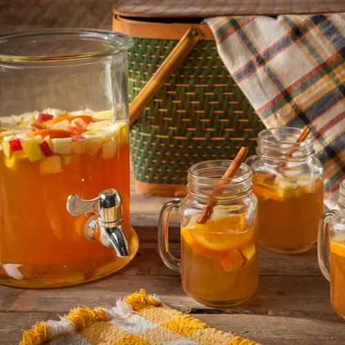 Apple Cider Sangria with White Wine