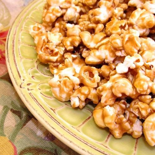 No-Bake Caramel Apple Popcorn Recipe