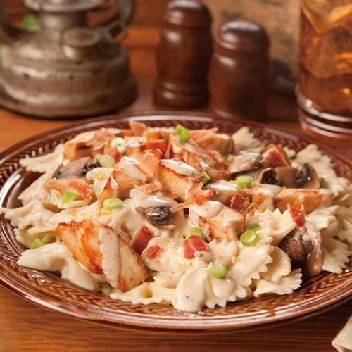Creamy Mushroom Chicken Pasta Recipe