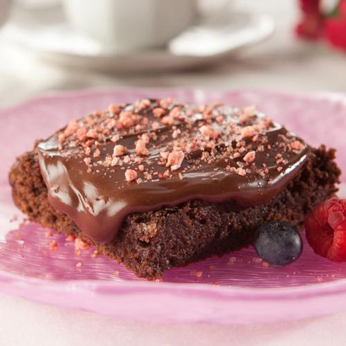Triple Berry Brownies
