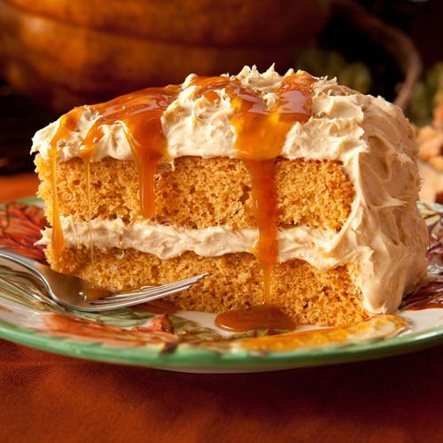 Harvest Spice Layer Cake