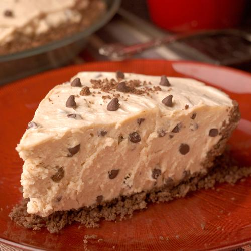 No-Bake Peanut Butter Chocolate Chip Pie