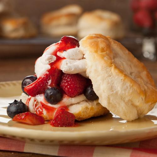 Berry Berry Shortcake Recipe