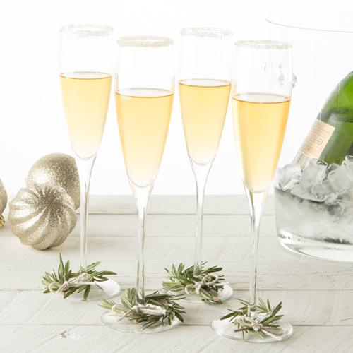 Spiced Apple Champagne