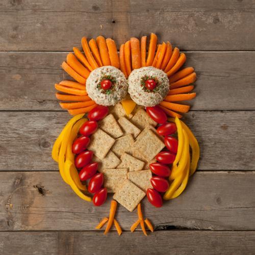 Owl Appetizer Platter