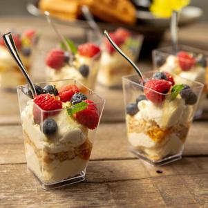 Cheesecake Fruit Parfait Recipe