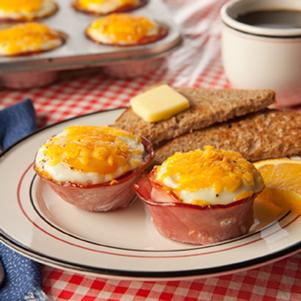 Smokehouse Ham & Egg Cups