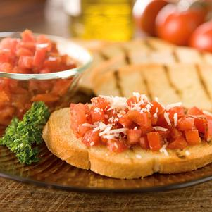Recipe for Bruschetta Bread with Cheese