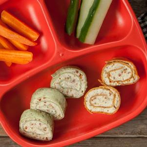 Pinwheel Roll-Ups with Cream Cheese