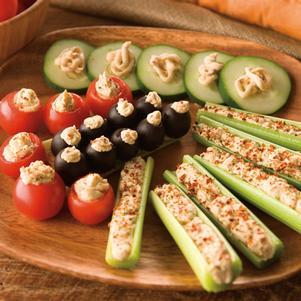 BLT Veggie Appetizer