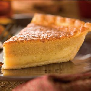 Pumpkin Spice Custard Pie