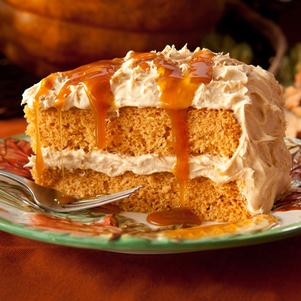 Harvest Spice Layer Cake