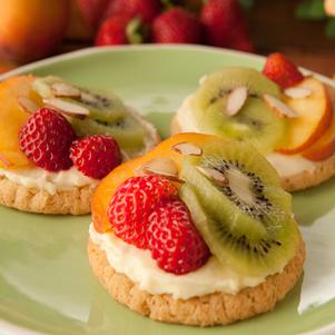Easy Elegant Fruit Tarts