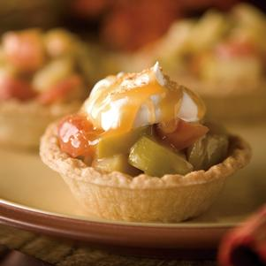 Caramel Apple Tarts