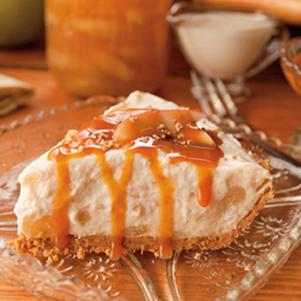 Recipe for Caramel Apple Cream Pie with Graham Cracker Crust