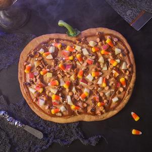 Spooky Dessert Pizza