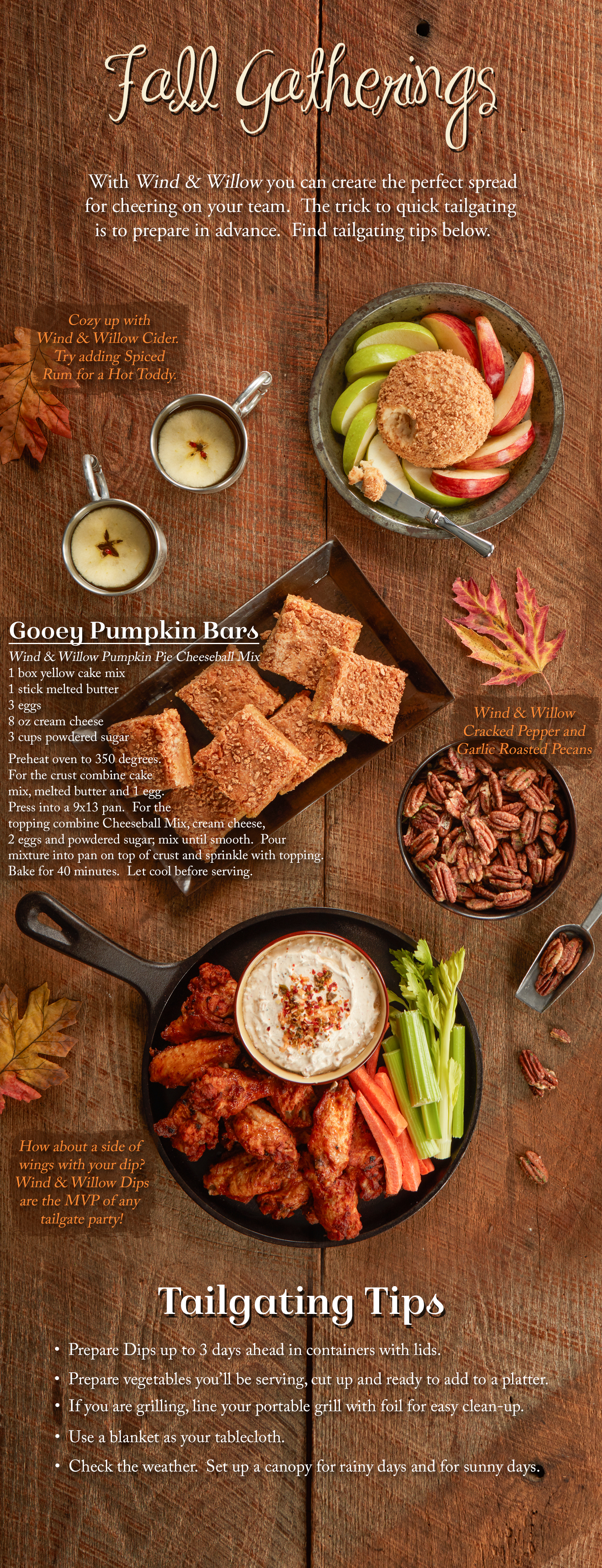 Fall gathering recipes ideas party entertaining